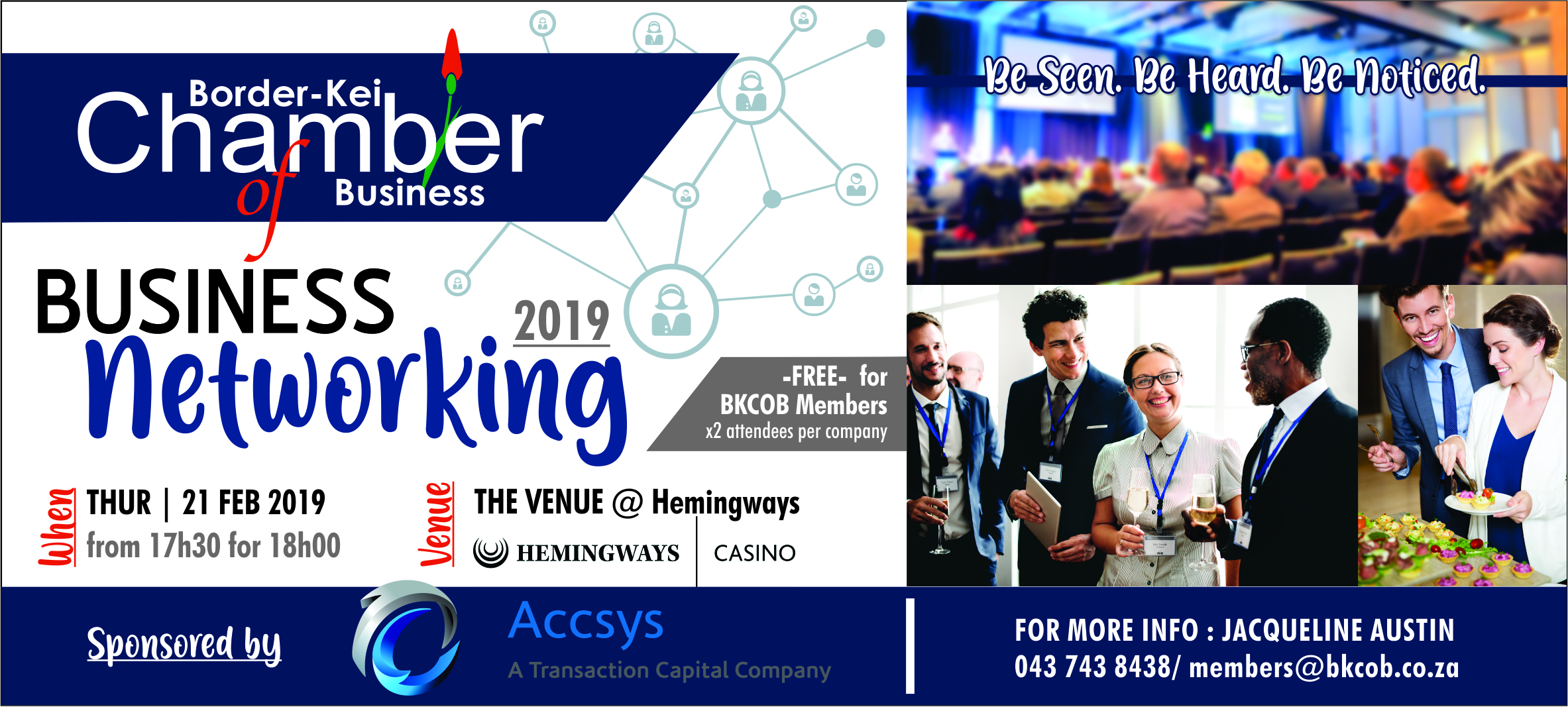 Networking Accys Feb 2019